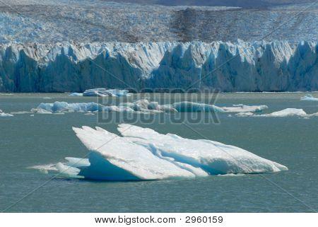 The Upsala Glacier In Patagonia, Argentina.