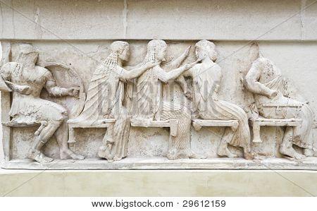 Ornamento no Museu de Delfos, Grécia