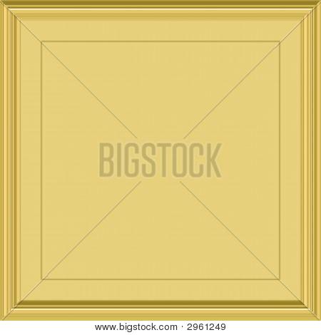 Placa dorada