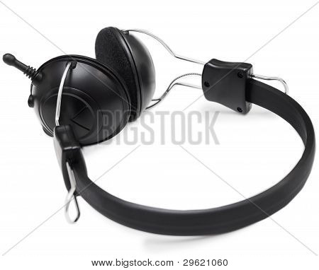 Headphones set with microphone