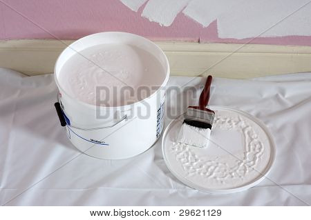 Painting An Interior Wall White