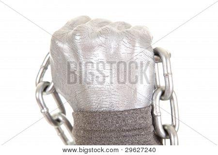 Silver Chain Fist