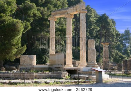 Olympia In Greece-Peloponnes