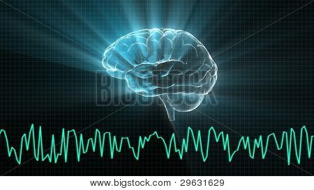 The Crystal Brain And Wave Graph