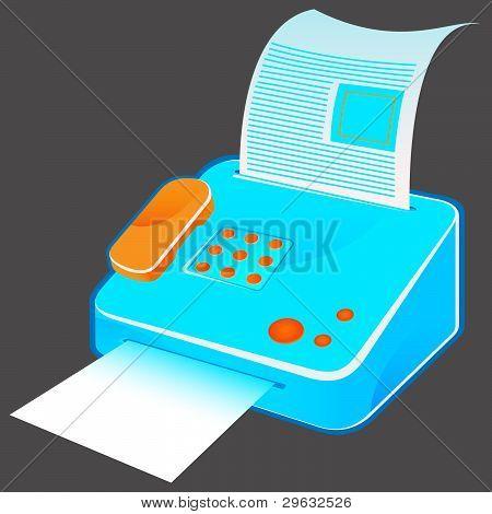 vintage fax