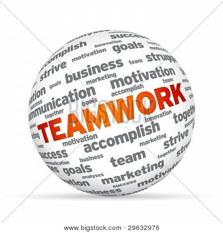 Esfera de trabajo en equipo