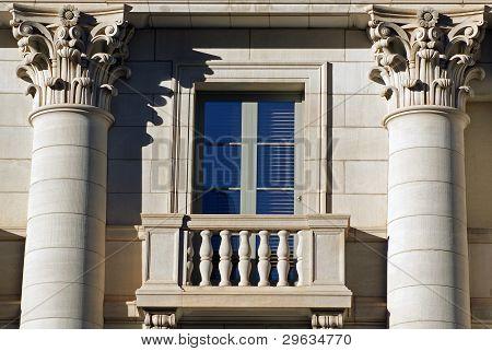Window with balcony
