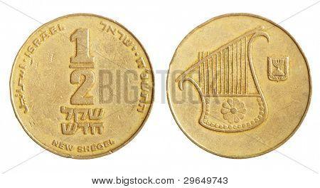 Half sheqel coin