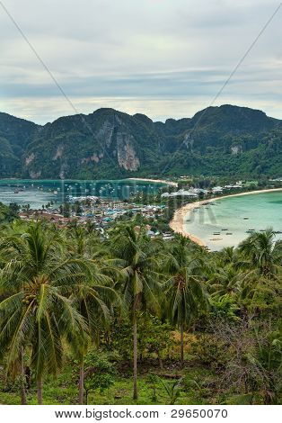 The View From The Vantage Point On Phi Phi