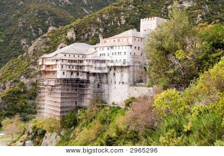 Dionysiou Holy Monastery Mount Athos Halkidiki Greece