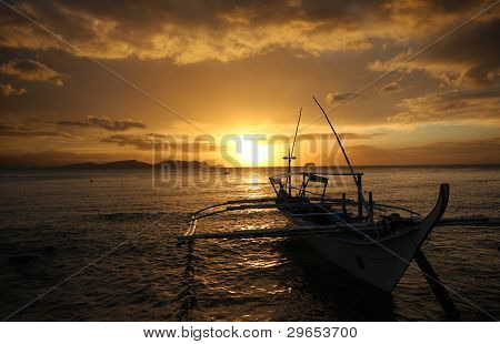 Sunset at philippines