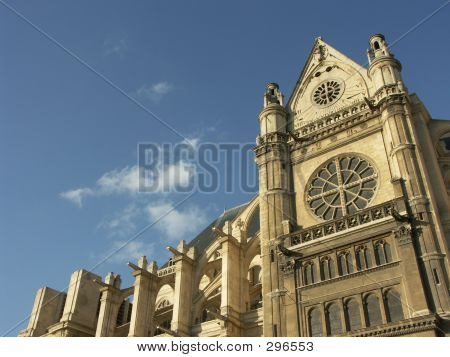 Sainte-eustache Church In Paris