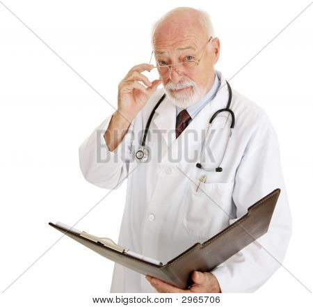 Doctor - Serious About Your Health