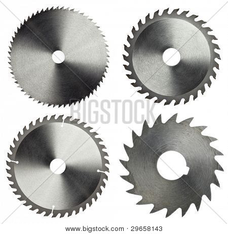 Circular saw blades for wood work