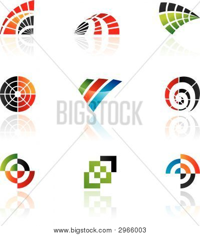 Various colorful icons