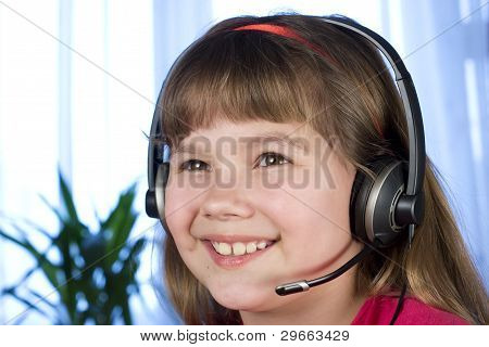 Child In The Headphones