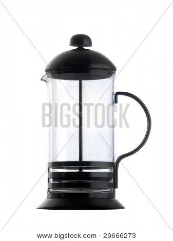 Isolated coffee maker.