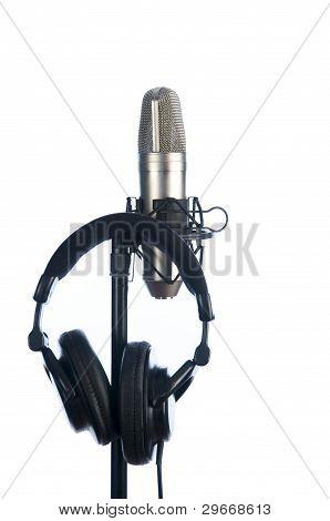 Mic And Headphones