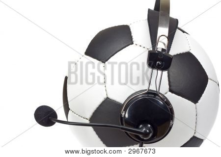 Soccer Concept, Ball As Commentator