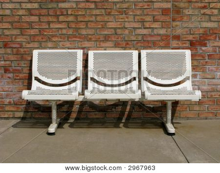 Outdoor Seating For Three