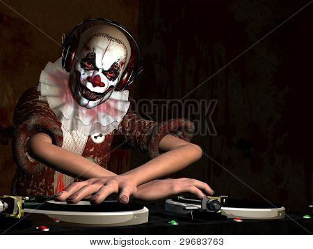 Scary Clown Dj