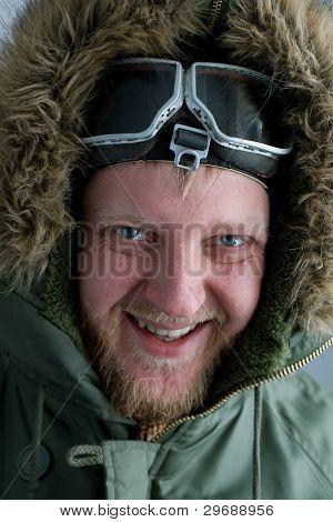 In Polar Flying Helmet
