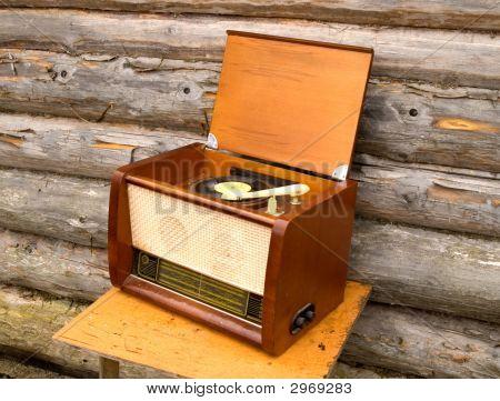 Old Radio-Gramophone