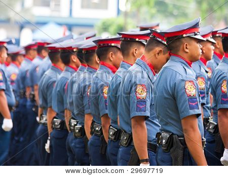 Philippine National Police -25th founding day