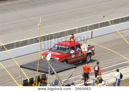 Nascar Racing At Indianapolis Motor Speedway
