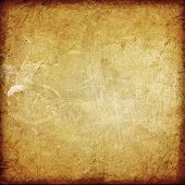 the old parchment grunge background