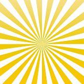 Yellow Color Sun Rays Sunburst Pattern Vector.  Yellow Sun Rays Sunburst Background. poster