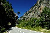 Tara canyon, Montenegro poster