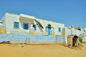 image of nubian  - Building in Nubian village - JPG