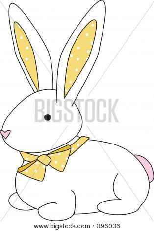 Bunny Dot Yellow