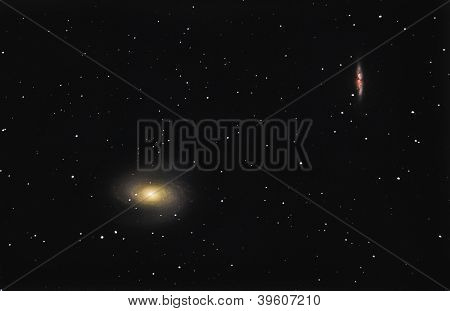 Bode's Galaxy M81 And M82
