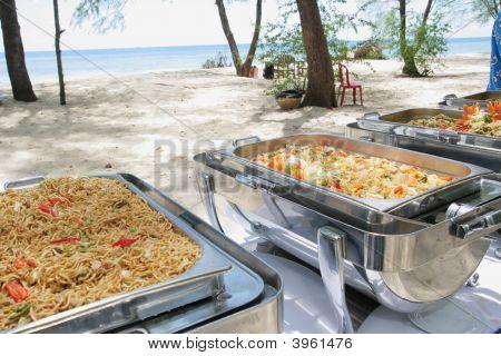 Buffet Lunch Outdoor