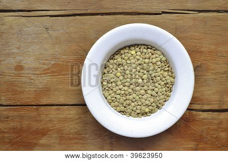 Lentil In Bowl