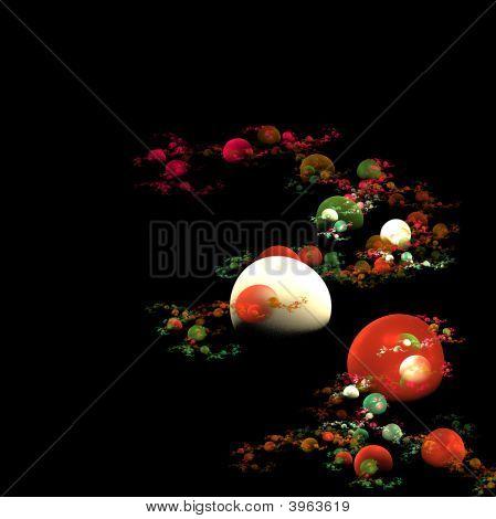 Colored Bubbles