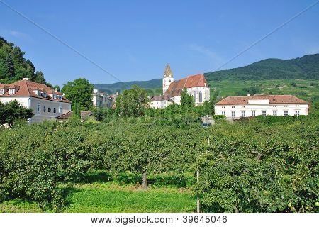 Village of Spitz,Wachau,Austria