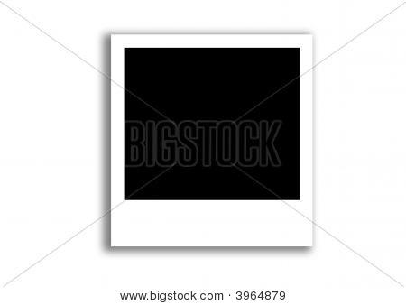 sofortiges Foto frame