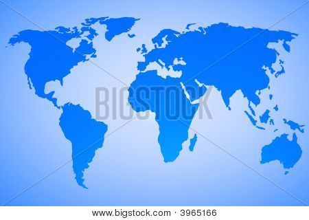 World Map Vector Design