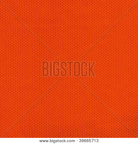 Orange Jersey Mesh