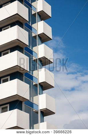 Balconies Of Modern Building