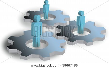 Cogs And People