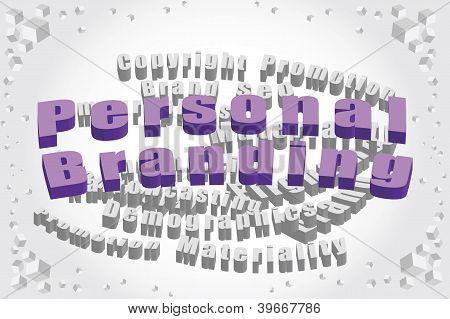 Personal Branding Tag Cloud