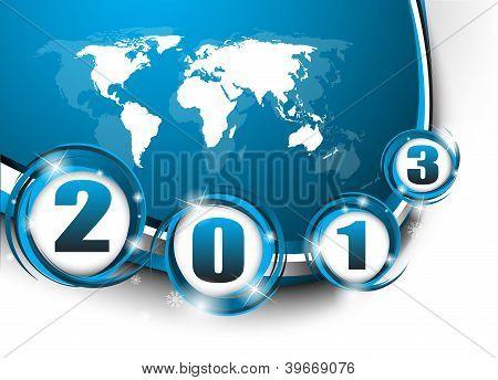 kreative neue Jahr 2013