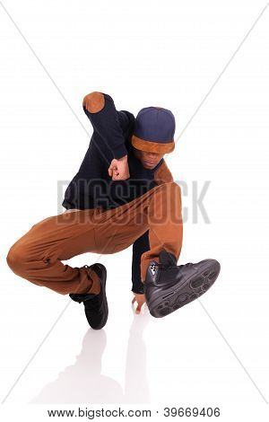 African Dancer Breakdance  Dancer