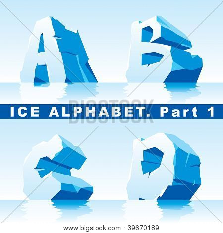 Ice alphabet