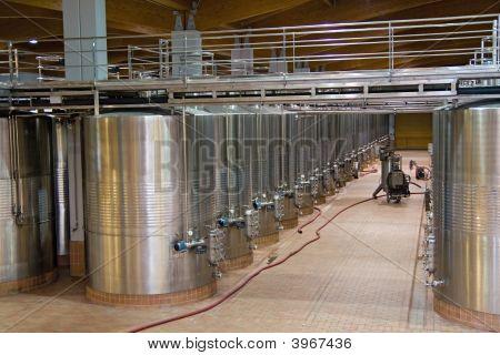 Wine Fermentation Vats