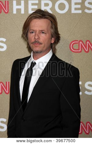 LOS ANGELES - DEC 2:  David Spade arrives to the 2012 CNN Heroes Awards at Shrine Auditorium on December 2, 2012 in Los Angeles, CA